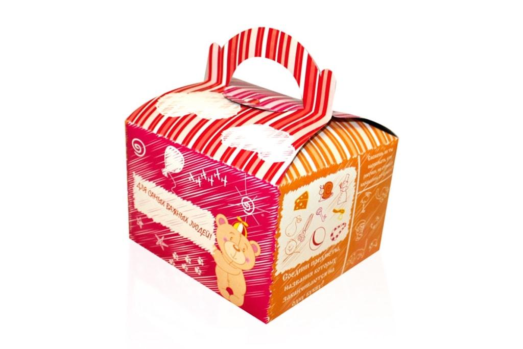 Коробка для детского меню
