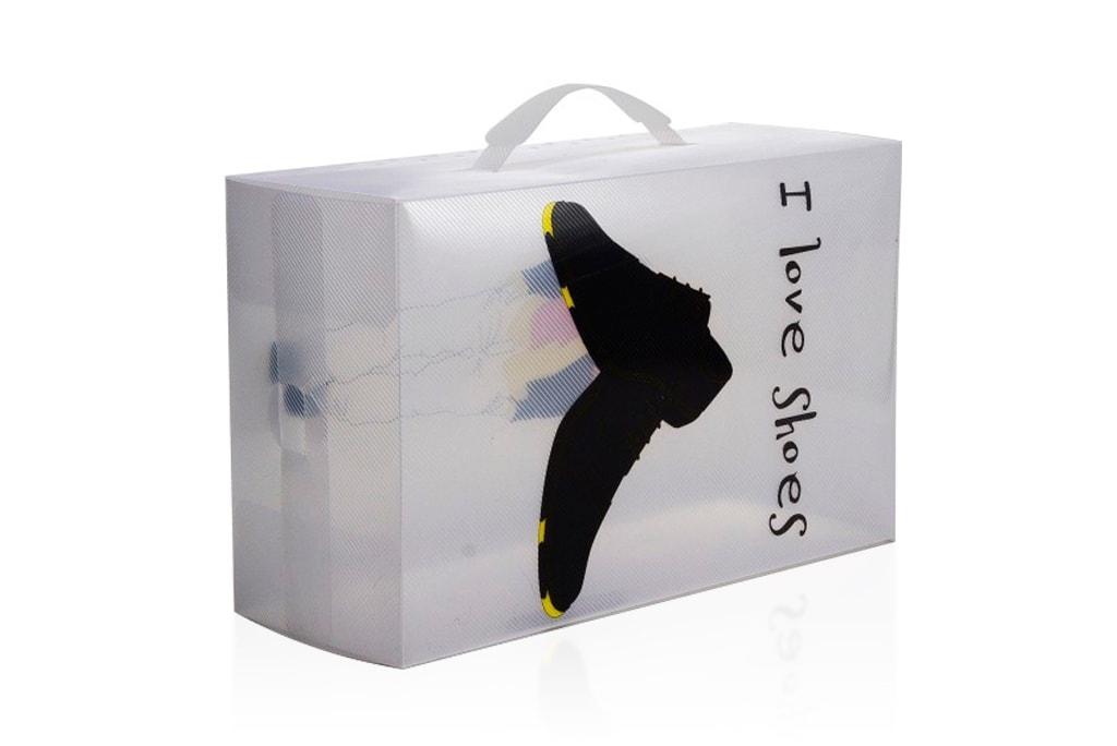 Коробка для обуви нестандартная