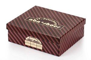 Коробка для обуви (конструкция крышка-дно)