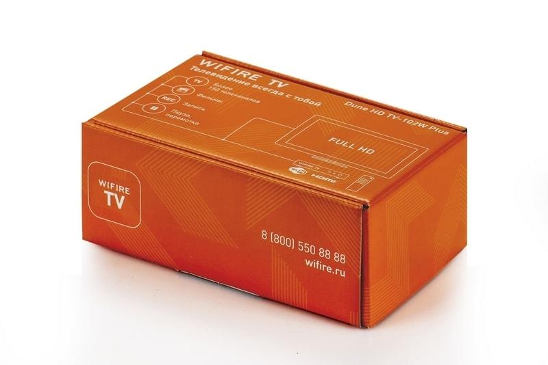 Коробка для ТВ-приставки