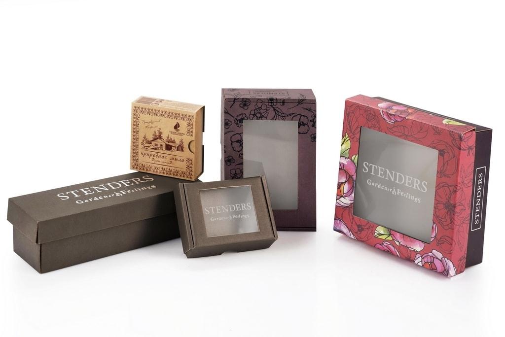 Коробки для косметики, парфюмерии и бытовой химии