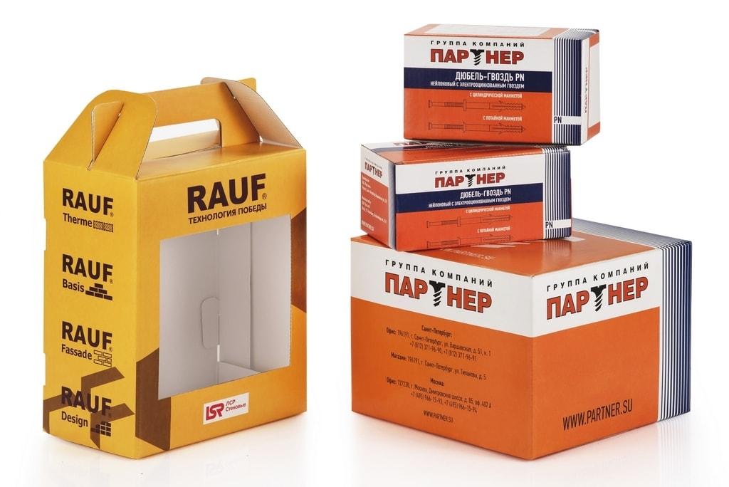 Упаковка для строительных товаров