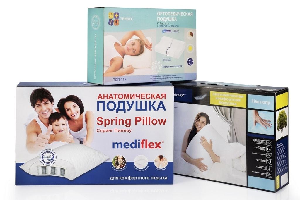 Упаковка для ортопедических товаров