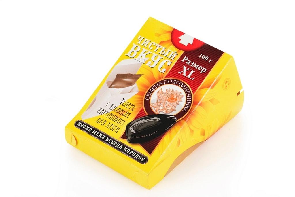 Потребительская упаковка для семечек