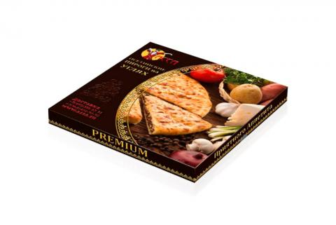 Коробка для пирога типа шкатулка