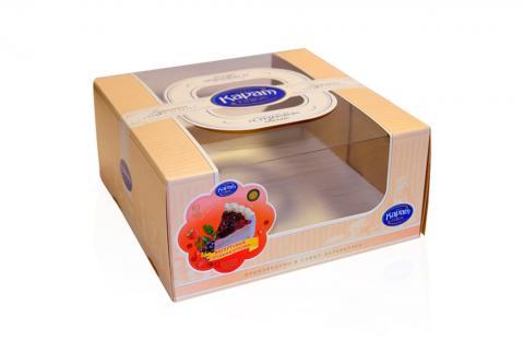 Коробка для торта с окошком