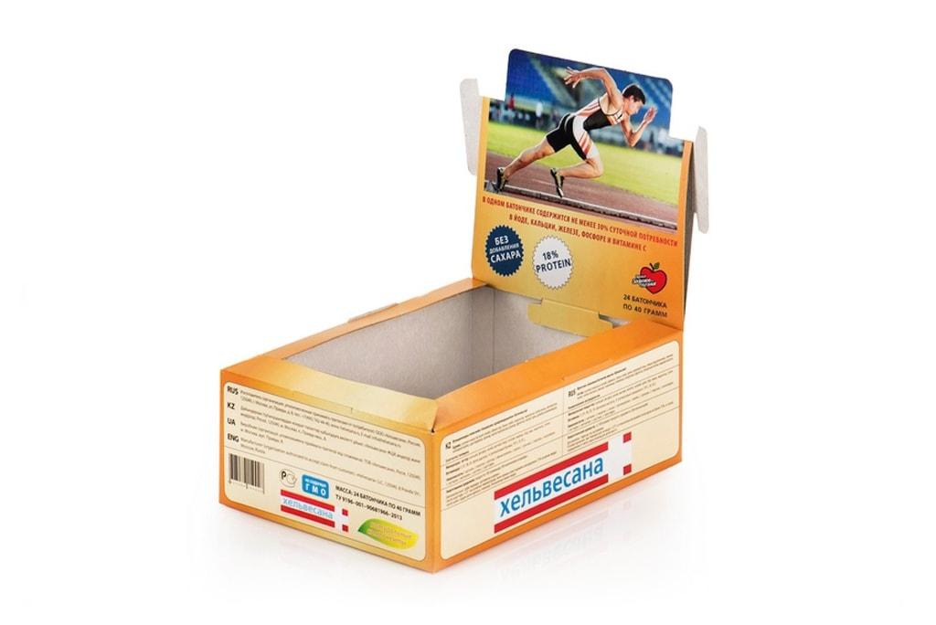 Упаковка для батончиков