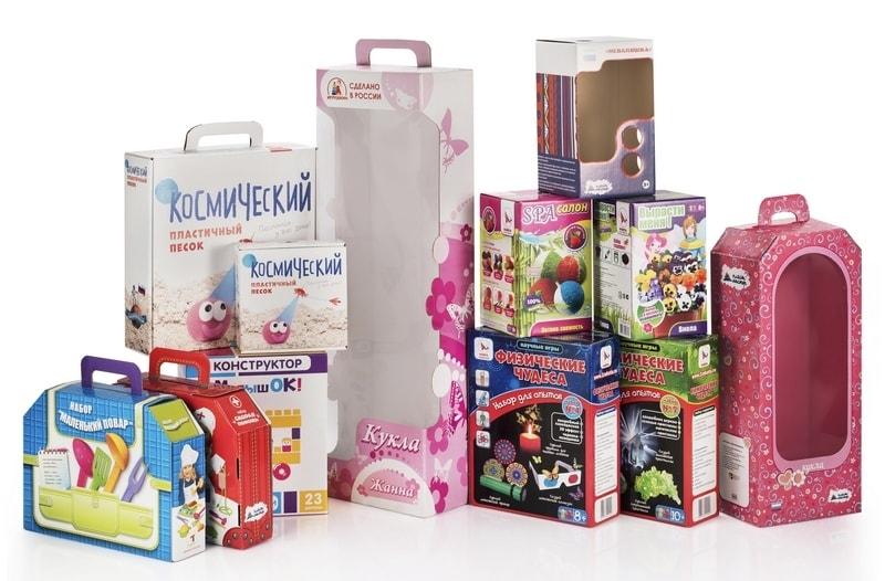 Упаковка для игрушек