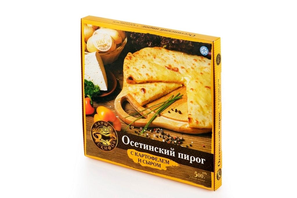 Потребительская упаковка для пирога