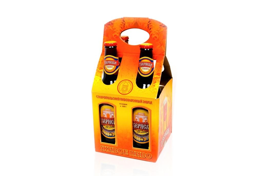 Промоупаковка для пива