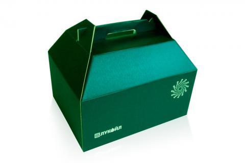 Фирменная упаковка конструкции сундучок