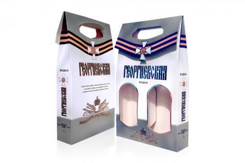 Групповая упаковка для алкоголя
