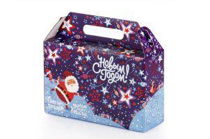 Коробка новогодняя - чемодан