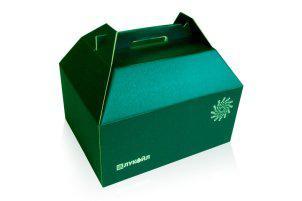 Подарочная упаковка конструкции пачка