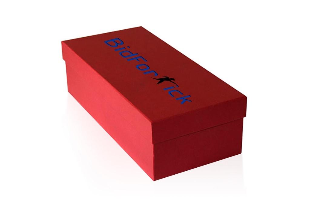 Коробка для обуви из микрогофрокартона