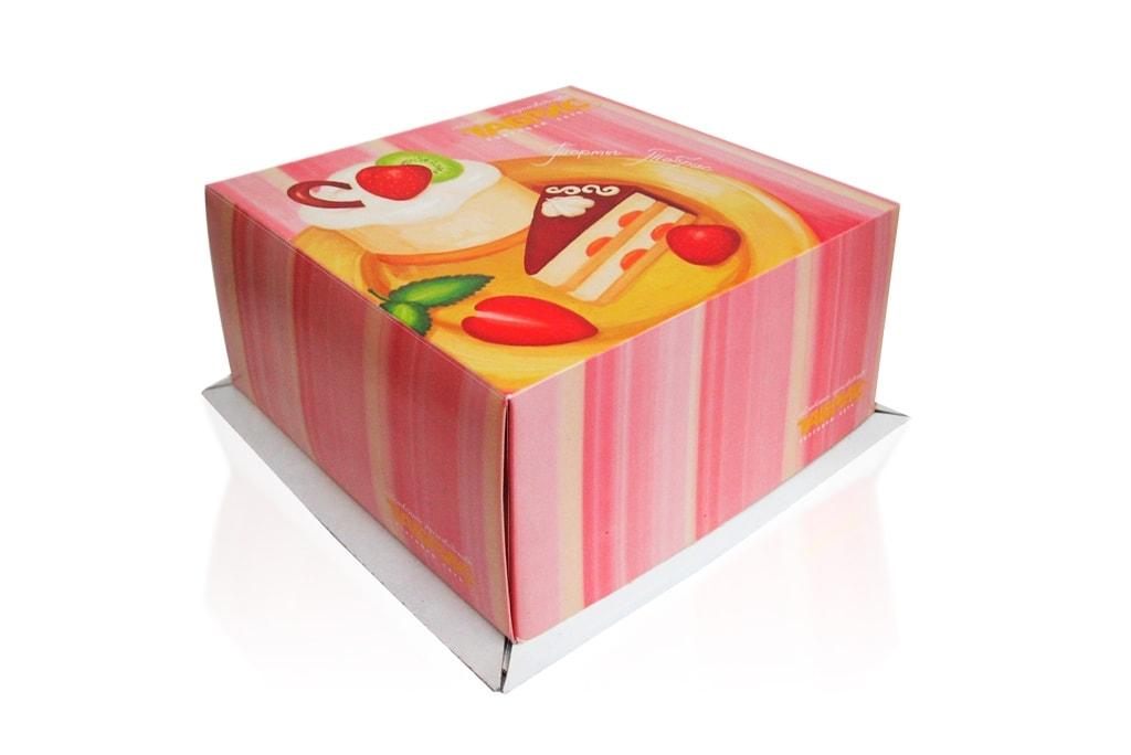 Коробка для торта - фото