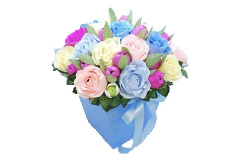 Упаковка для цветов из микрогофрокартона